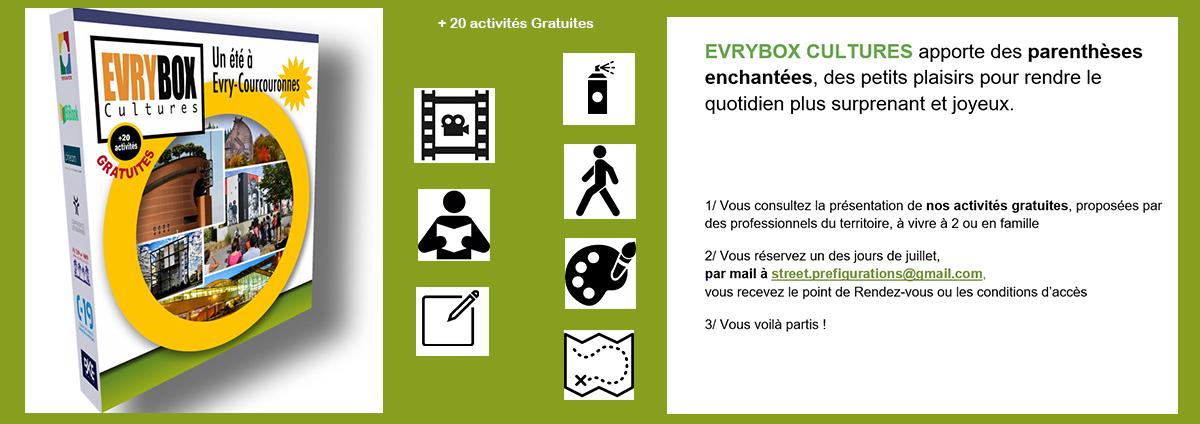 5.4.3.2.1 c'est l'été ! +20 activités en famille avec la BOX EVRY : retrouvez les détails