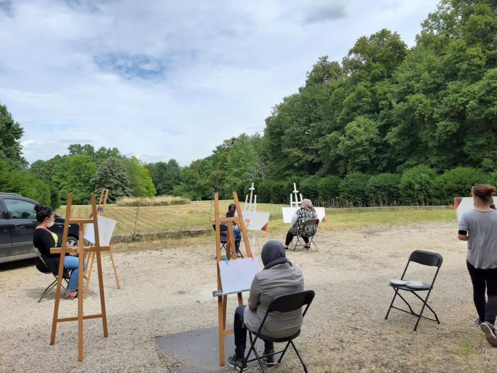 """EXPOSITION : """"dessins, peintures, atelier d'été"""", Vendredi 18 septembre 2020"""