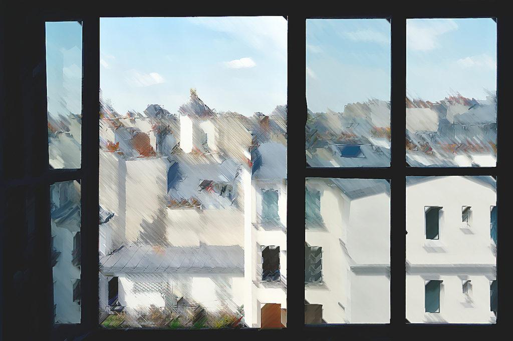 """Croquis urbains USK à distance """"Fenêtres sur cours"""", samedi 7 novembre 2020"""