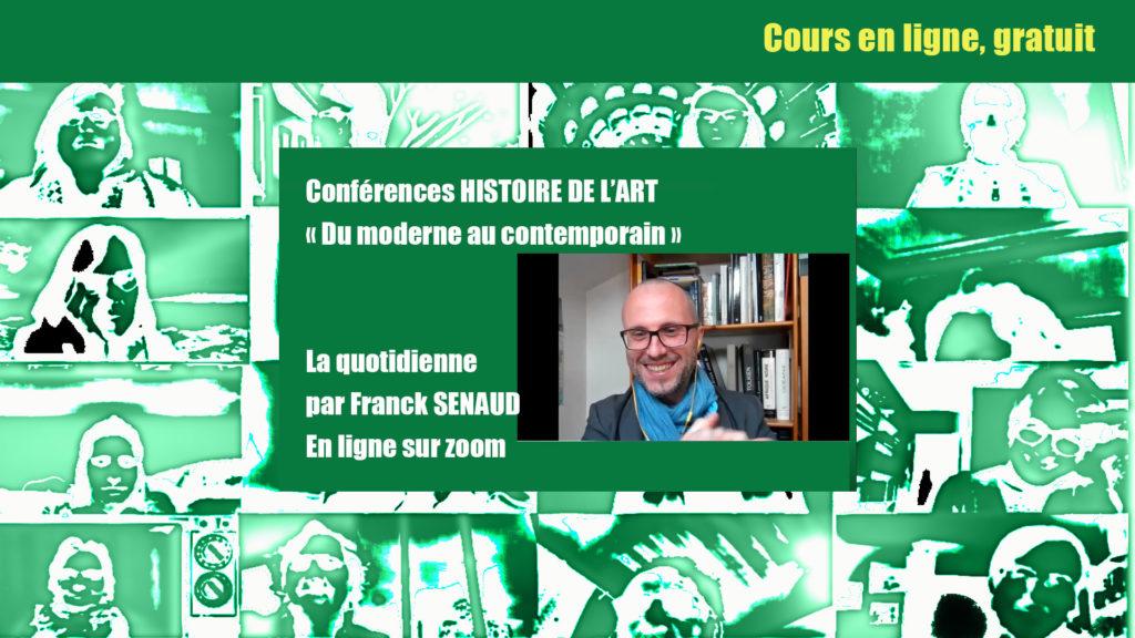 """La Quotidienne HDA """"DU MODERNE AU CONTEMPORAIN"""" en ligne : 9 épisodes en décembre"""
