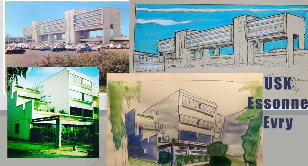 Défi Urban Sketchers : 32 jours pour 16 architectures, Continuez à participer !