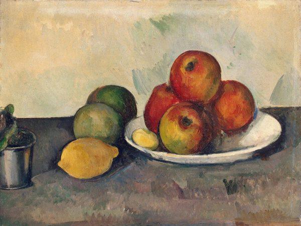 cezanne et les pommes