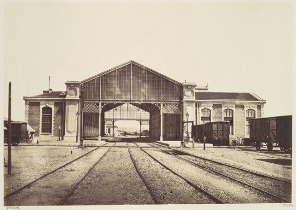 HDA--photo-Baldus_Toulon_Railway_Station-1859