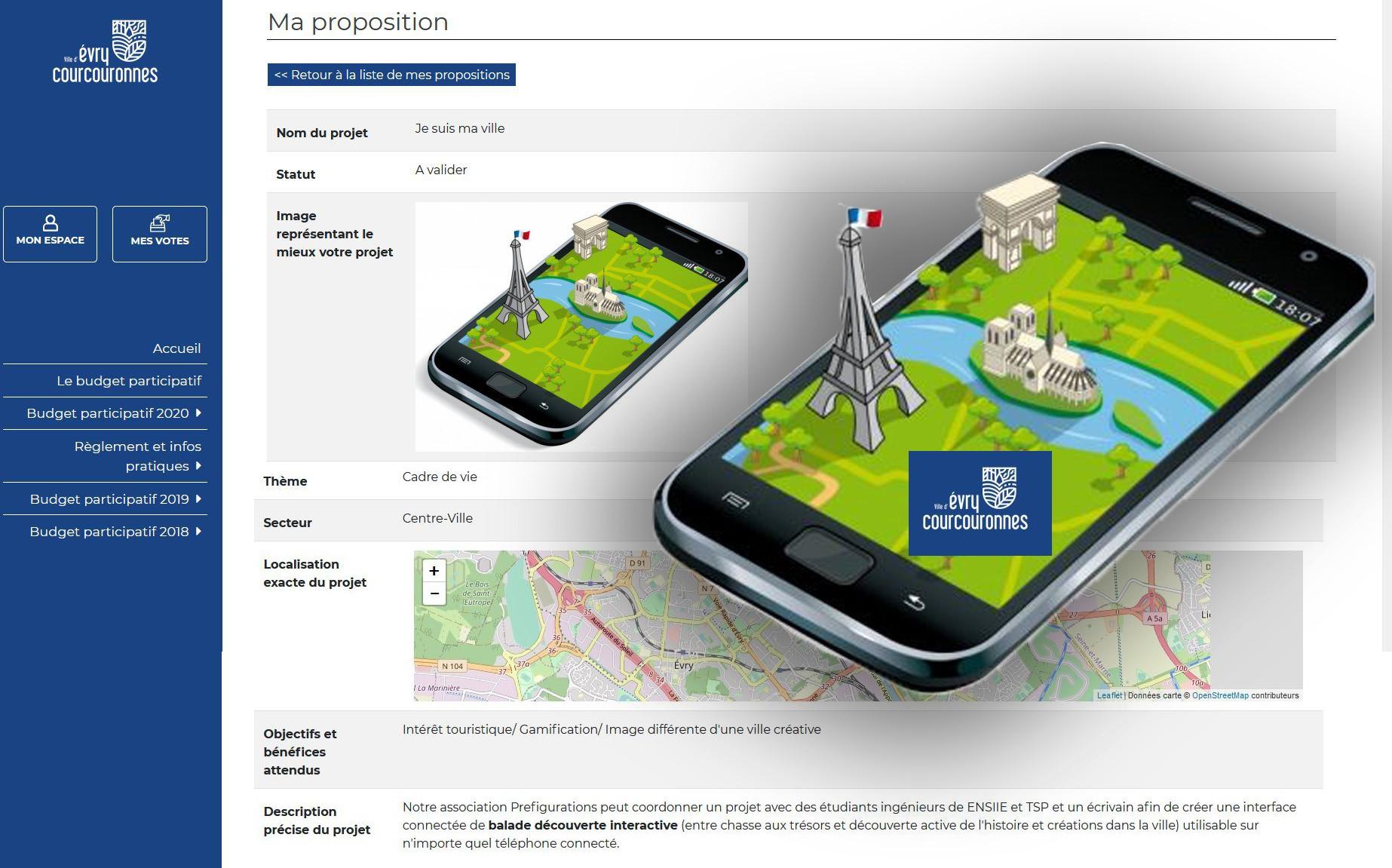 Jesuismaville-application