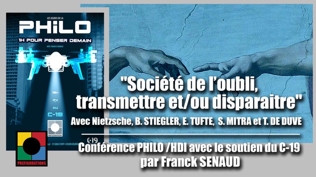 Vidéos conférence PHILO/ HDI «Penser demain»