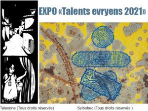 Exposition «Talents evryens», Mercredi 3 mars 2021