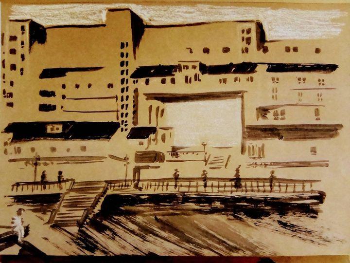 VIE de l'asso : USK Evry, immeuble de la Butte creuse de Riboulet, mars 2021
