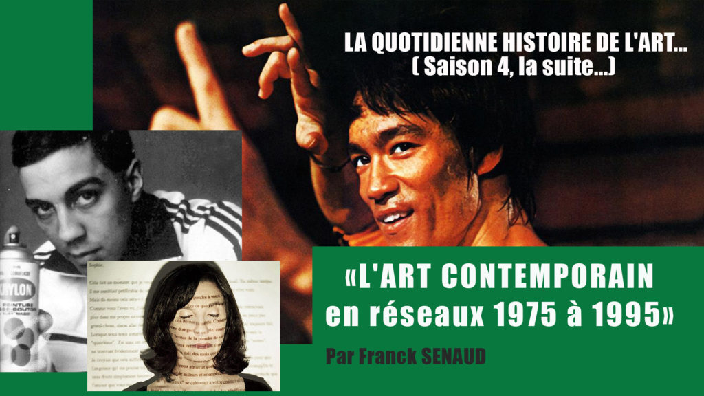 HDA La quotidienne «l'art contemporain en réseau 1975-1995» du 3 au 14 mai 2021