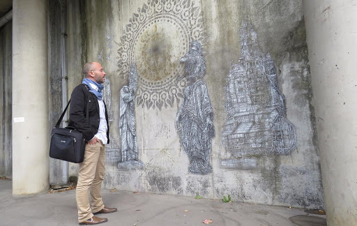 streetartevry-avec Franck SENAUD