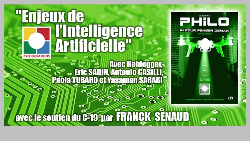 Conférence HDI : « Enjeux de l'intelligence artificielle », Jeudi 17 juin 2021 @ En présentiel au C-19 ou en ligne , prendre votre billet sur ce lien: https://www.helloasso.com/associations/prefigurations/evenements/hdi-enjeux-de-l-intelligence-artificielle | Évry-Courcouronnes | Île-de-France | France
