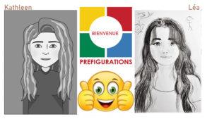 VIE DE L'ASSO : Bienvenue à nos deux stagiaires étudiantes de Licence Métiers d'art et du design