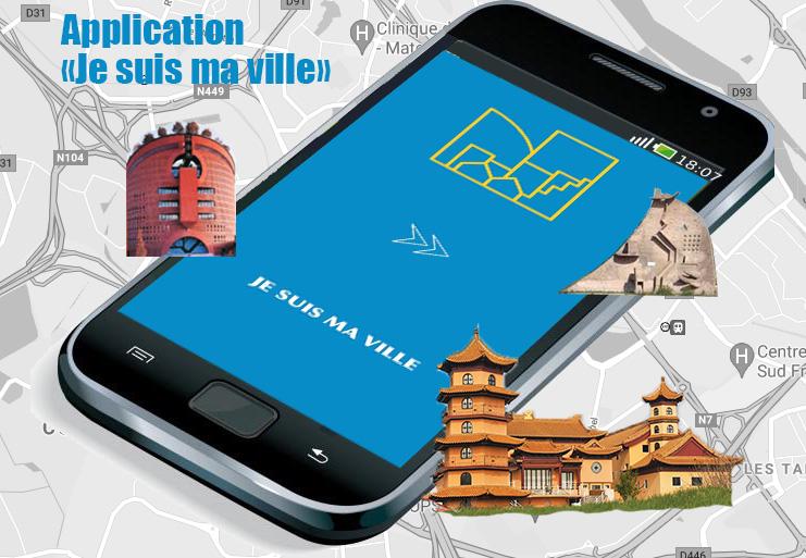 """VIE DE L'ASSO : Application """"Je suis ma ville"""" sur votre mobile !"""