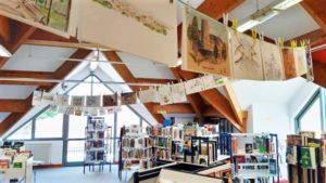VIE DE L'ASSO : USK , exposition, initiation aux carnets de voyages à Vert-le-grand