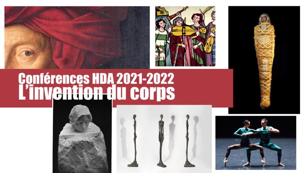 Programme HISTOIRE DE L'ART dés le 2 octobre 2021